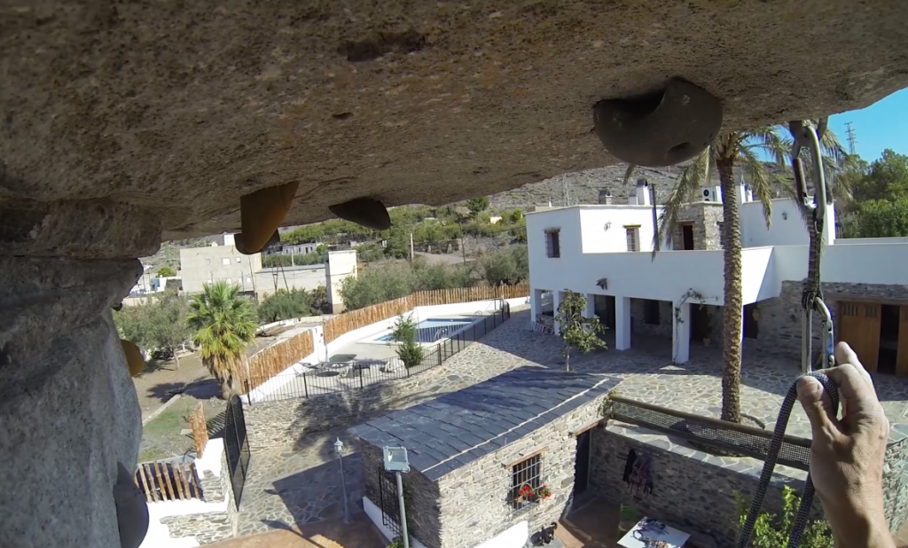 CLIMBING WALL, HOUSE'S VIEW
