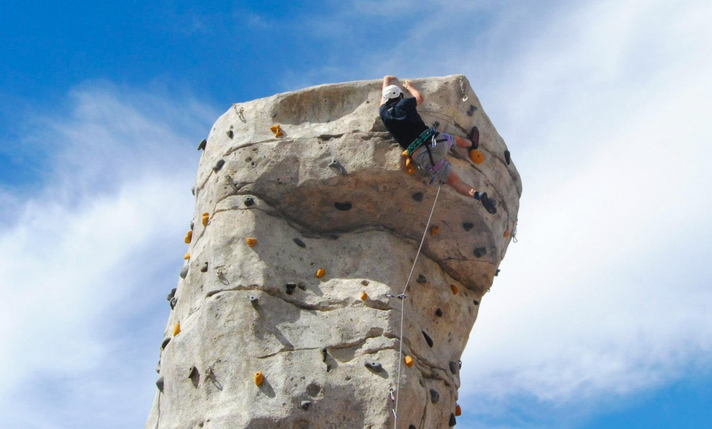 CLIMBING WALL, THE TICK ROUTE