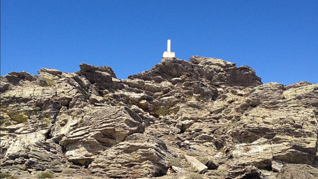 CALAR ALTO, VÉRTICE GEODÉSICO 2168 m