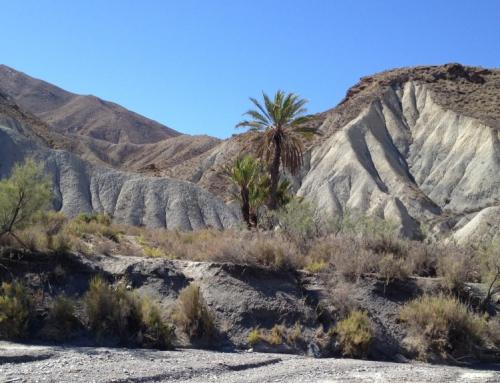 Desierto de Almería desde Gérgal